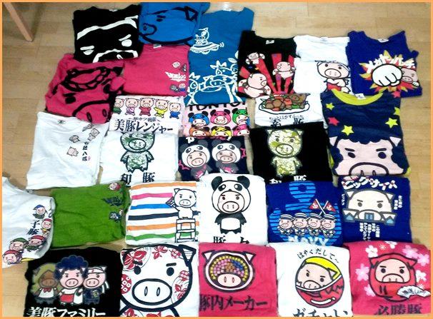 美豚Tシャツ2